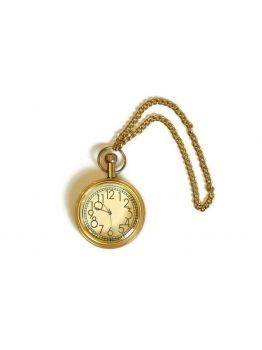 Nautical Maritime Brass Pocket Watch Fully Working With Chain