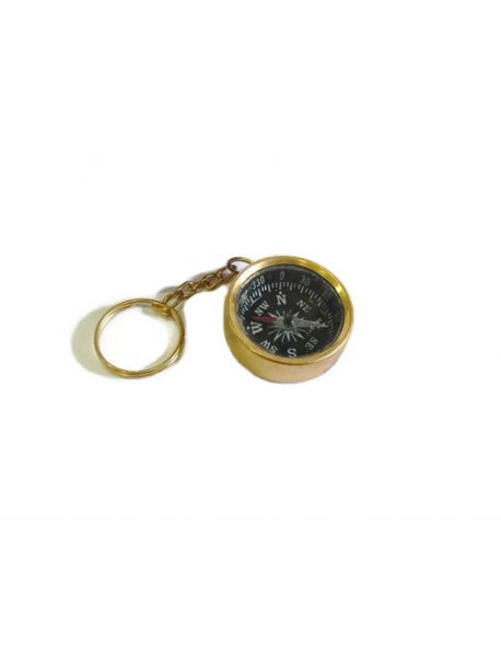 Nautical Maritime Compass Key Chain