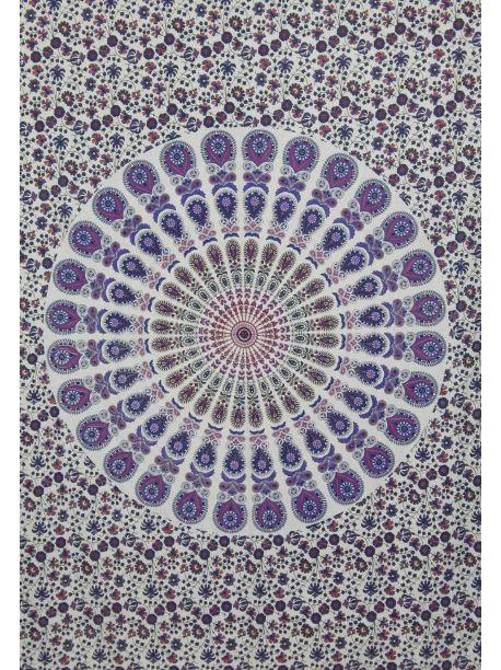 Handmade Wall Tapestry Mandala Tapestries Psychedelic Throw Bedspread Vintage