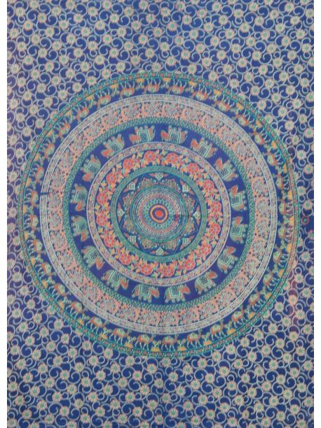 Mandala Tapestry Wall Hanging Hippie Tapestries Ethnic Decor Art