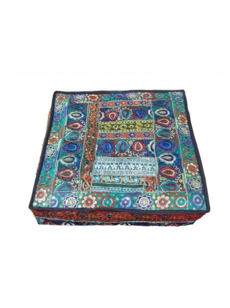 Arazona Handmade Bohemian Floor Pillow -  -
