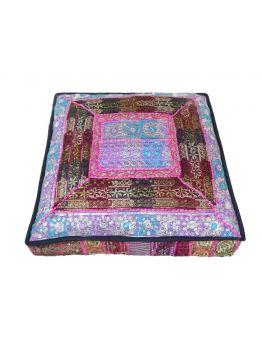 Mica 24 inch Handmade floor pillow