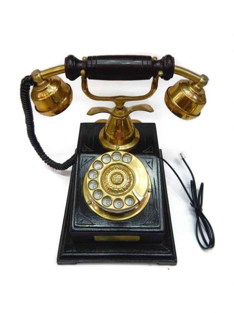 Lord Rotary Dial Phone - -