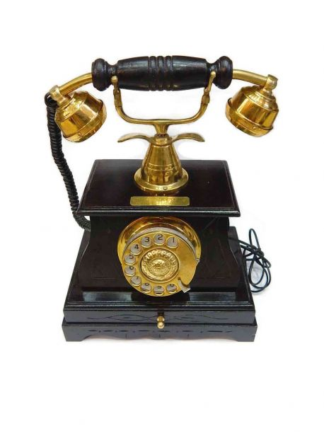 Aura Rotary Dial Old Fashioned Phone -  -