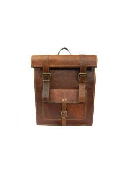 BARCAO Vintage Leather Backpack Handbag -  -