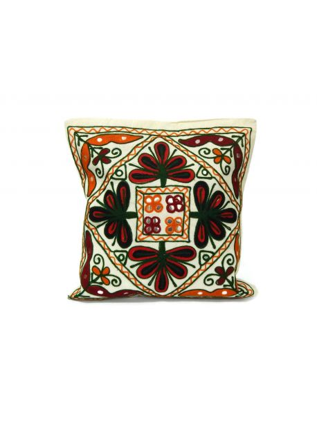 Decor Pillow Covers Turquoise Mirror Lace Work Set