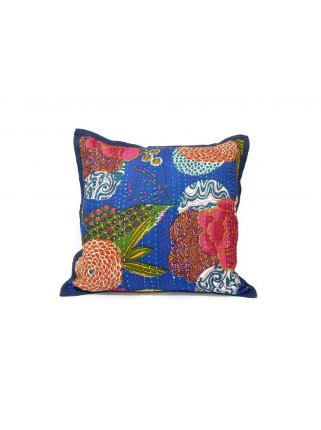 Cotton Cushion Covers Sanganeri Gold Print set