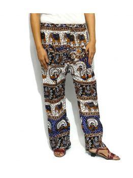 Handmade Silk Harem Pants