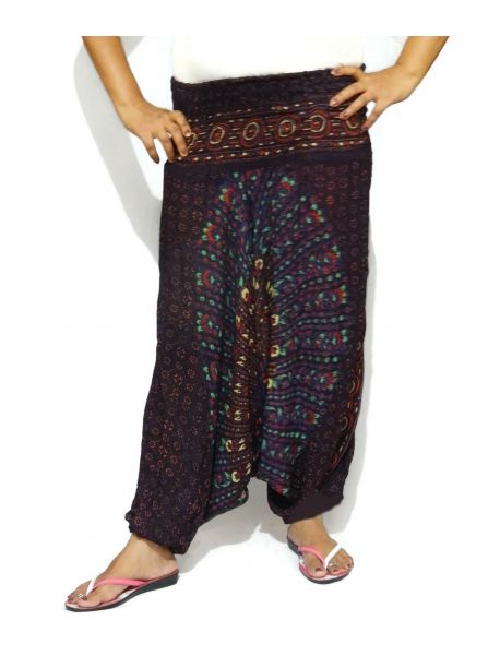 Handmade Cotton Harem Trousers