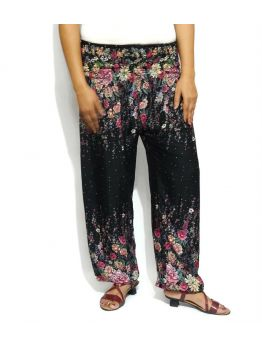 Handmade Black Harem Pants