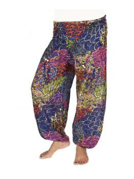 Work Hard Play Hard Cotton Harem Pants