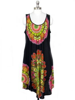 High Hill Bohemian Beach Dress -  -