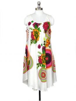Koren White Beach Party Dress -  -