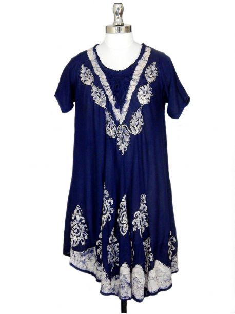 Pike Cotton Beach Dress -  -