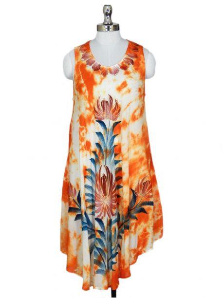 Black Sea Slip On Beach Cover up Dress -  -