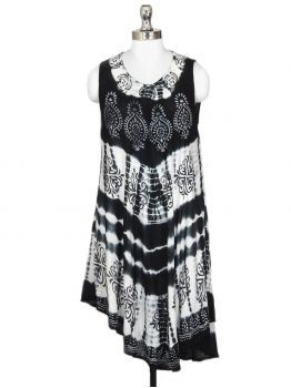 Kango Beach Cover up Tank Dress -  -