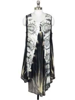 Vesper Sleeveless Tie Dye Dress