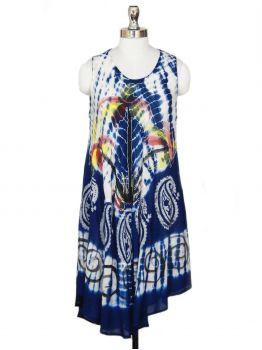 Monarch Sleeveless Tank Dress -  -