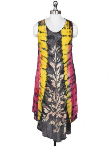 Pinacle Flowing Beach Dress -  -