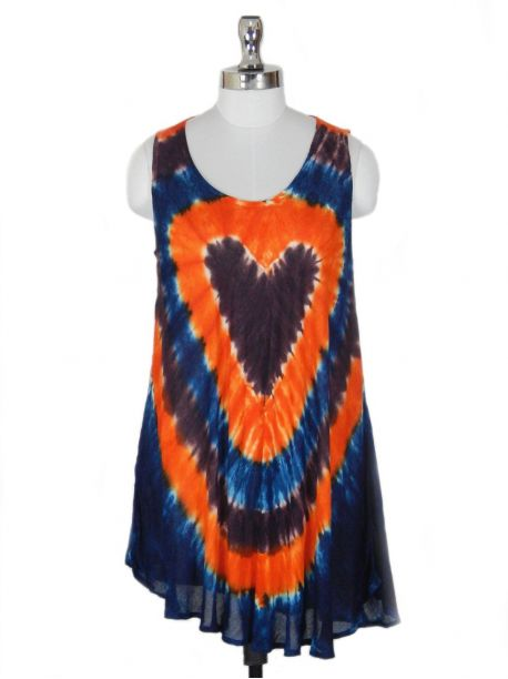 Haneda Sleeveless Tie-Dye Top -  -