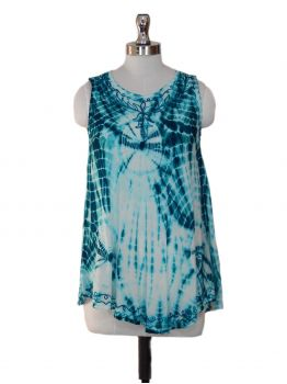 Hungary Sleeveless Tunic Top -  -