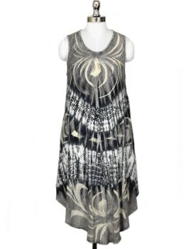 Bradbury Grey Sleeveless Dress -  -