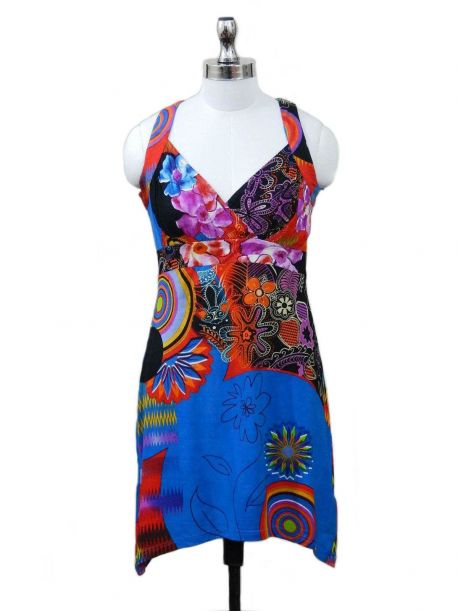 Marlow Hand Batik Sundress -  -