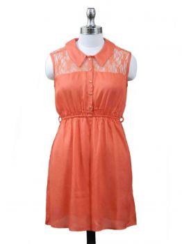 Happy Day Sleeveless Dress -  -