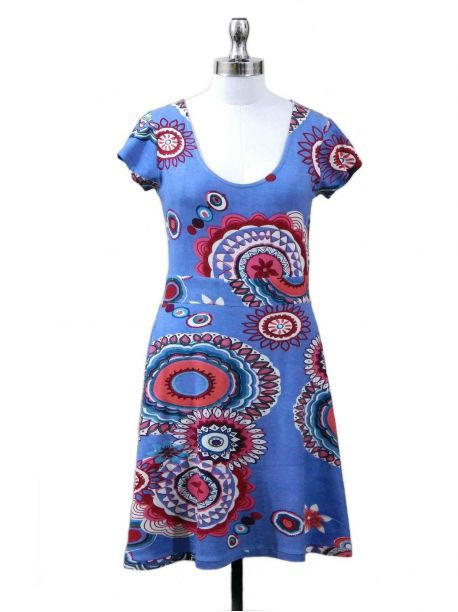 Ambar Printed Dress -  -