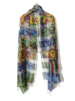Catherin Silk Scarves