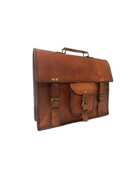 Sizzle Your Thought Laptop Leather Bags