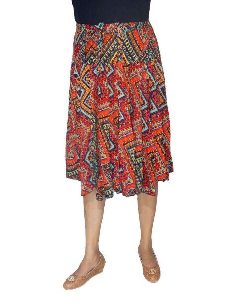 Poni midi high waisted skirt -  -