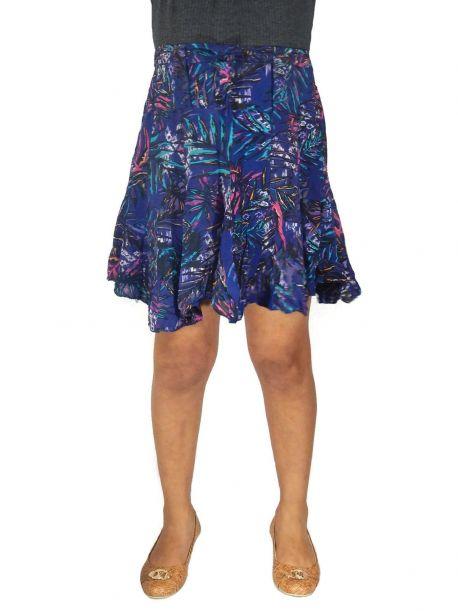 Raphael mini Flowy skirt -  -