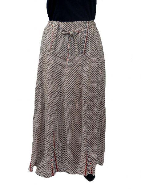 Loren high waisted long skirt -  -