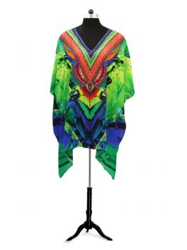 Woodside Long Kaftan Tops -  -