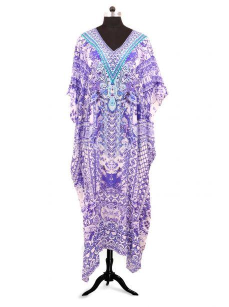 Squires Embellished Kaftan -  -