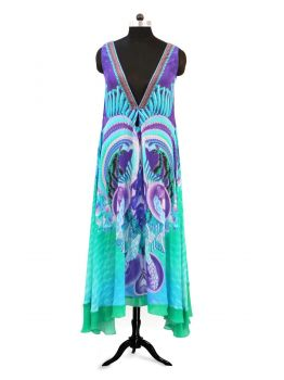 Tany Kaftan Evening Dress -  -