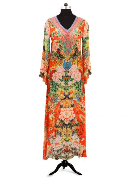 Mucke Elegent Kaftan Dress -  -