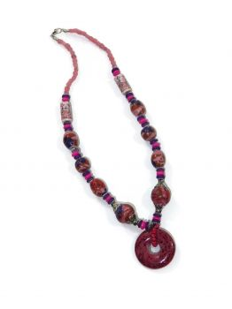 Bradbury Single Beaded Necklace -  -