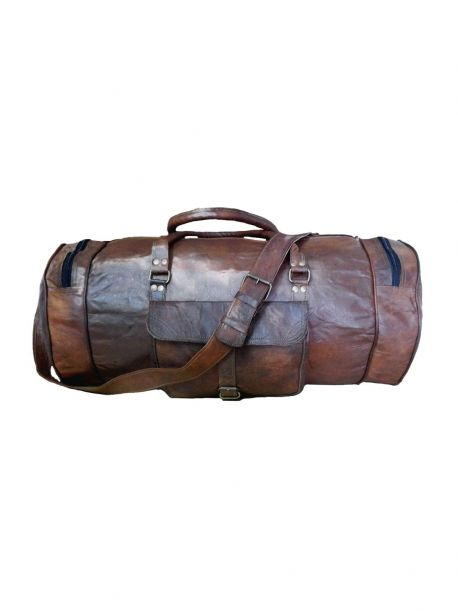 Love The World Be Loved Leather Travel Bags