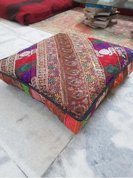 Pinaca Square Floor Pillow Cushion - -