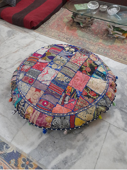 Marsal Floor Pillow Cushion Lounger - -