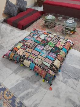Maggie Purple Floor Pillow