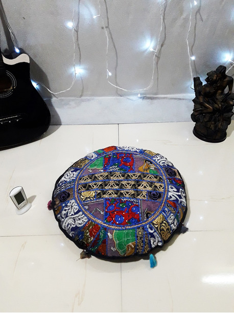 Lorna Bohemian Floor Cushion - -