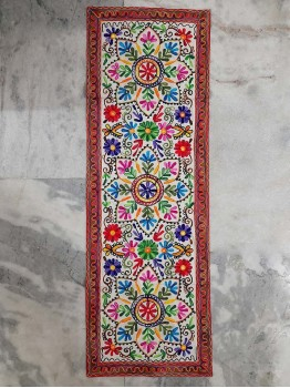 Hippy floral tapestry
