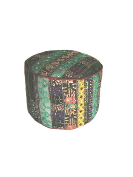 Embroidered Pillows /Ottoman/ Pouf