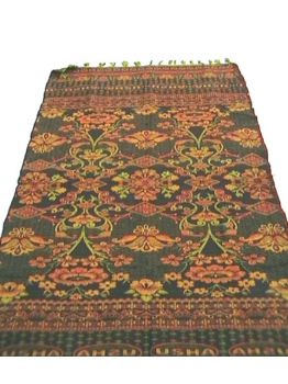 Gorgeous Floral Cotton Indian Rugs