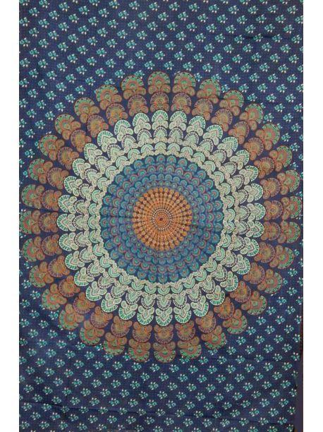 Block Print Indian Tapestry