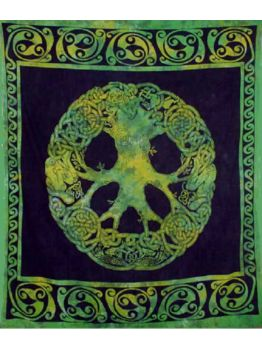 Celtic Printed Cotton Tapestry Wall Hanging Decor Wall Tapestries