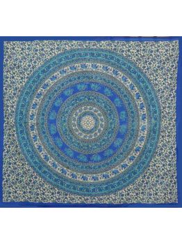 Elephant Tapestries Mandala Wall Hanging Tapestry Ethnic Bedspread Throw